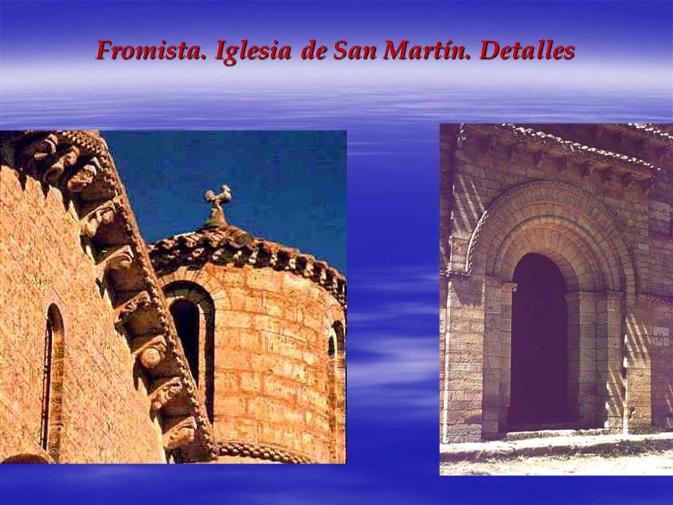 Fromista. Iglesia de San Martín. Detalles
