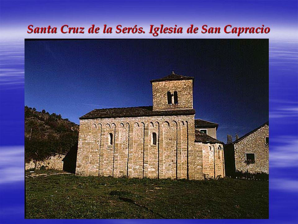 Santa Cruz de la Serós. Iglesia de San Capracio