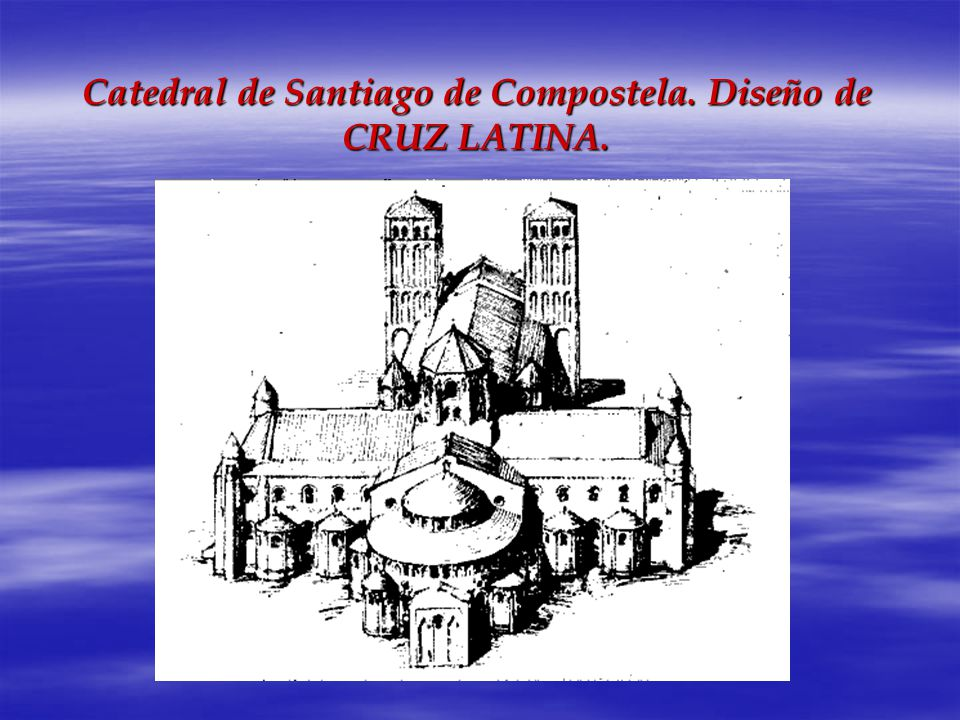 Catedral de Santiago de Compostela. Diseño de CRUZ LATINA.