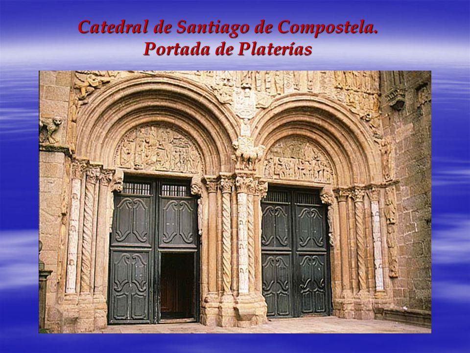 Catedral de Santiago de Compostela. Portada de Platerías