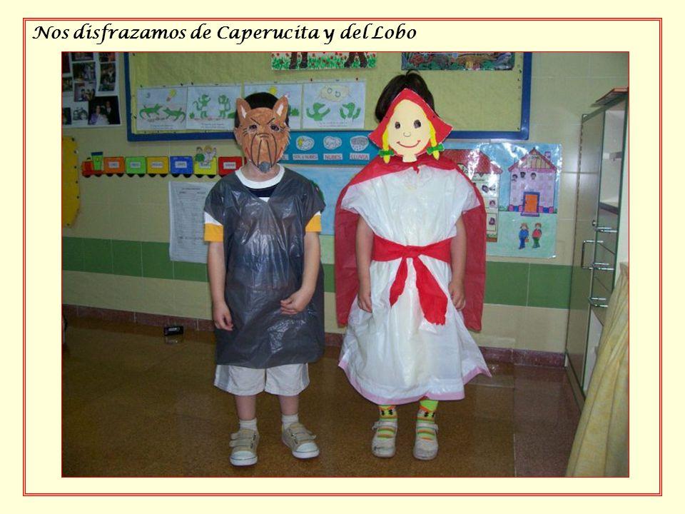 Nos disfrazamos de Caperucita y del Lobo