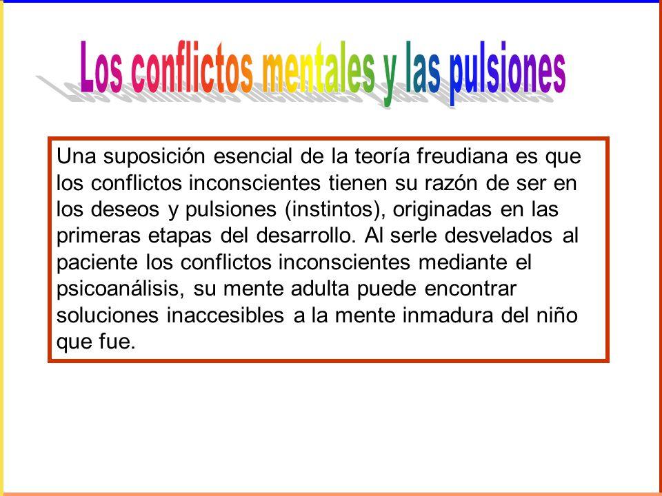 Los conflictos mentales y las pulsiones