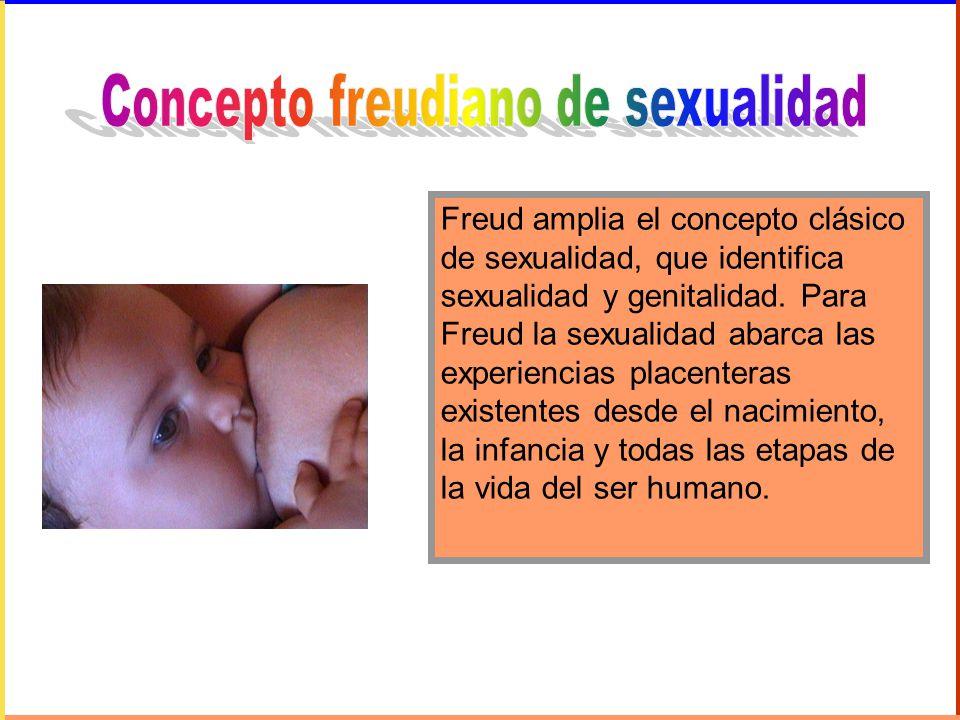 Concepto freudiano de sexualidad