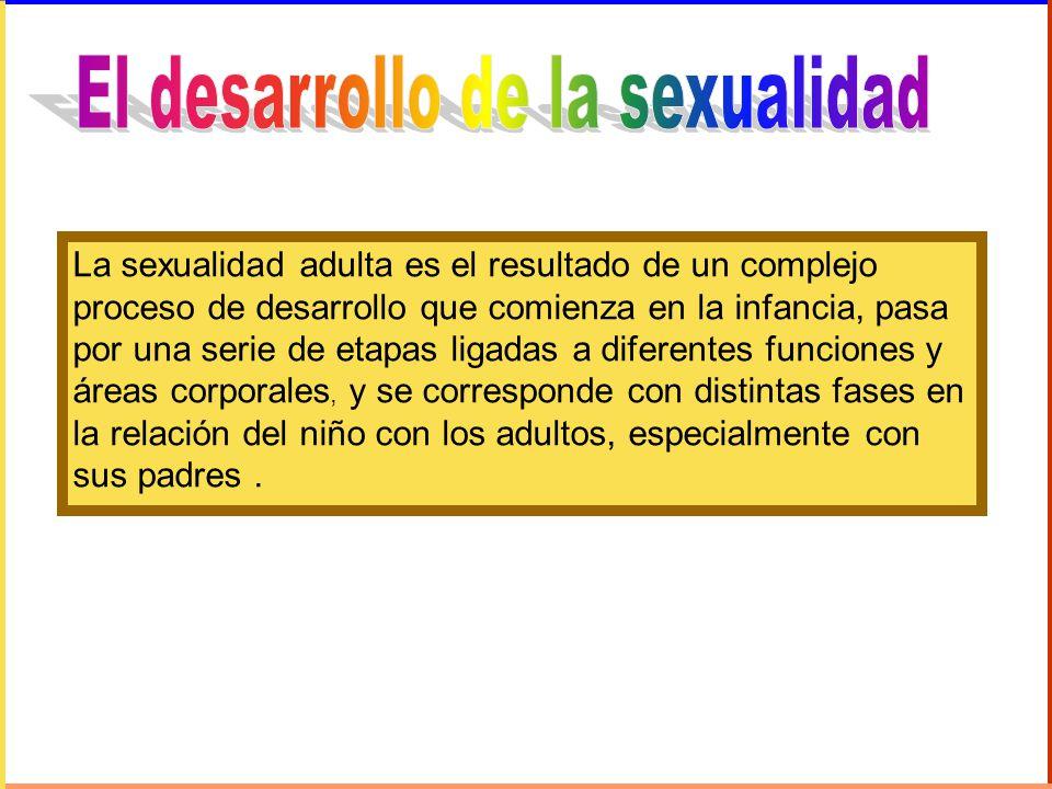 El desarrollo de la sexualidad