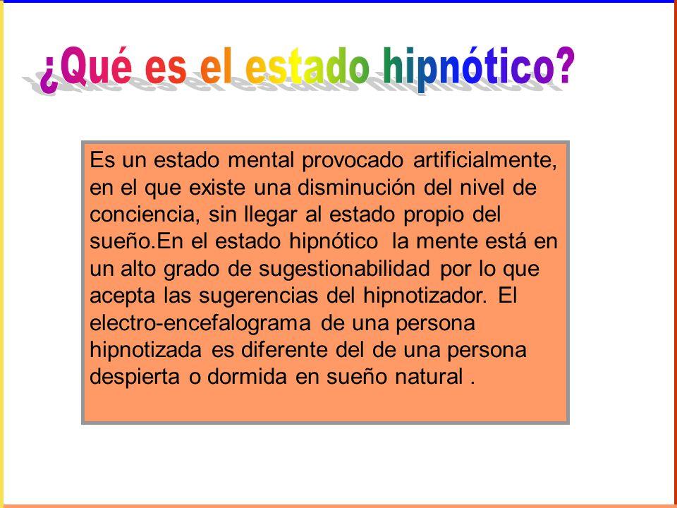¿Qué es el estado hipnótico