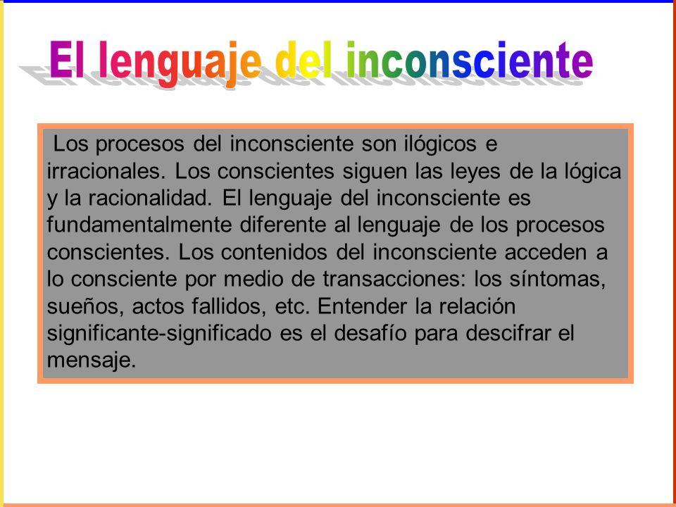 El lenguaje del inconsciente