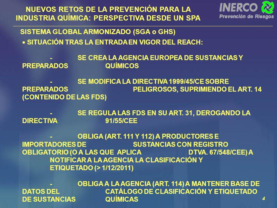 INERCO PREVENCIÓN DE RIESGOS