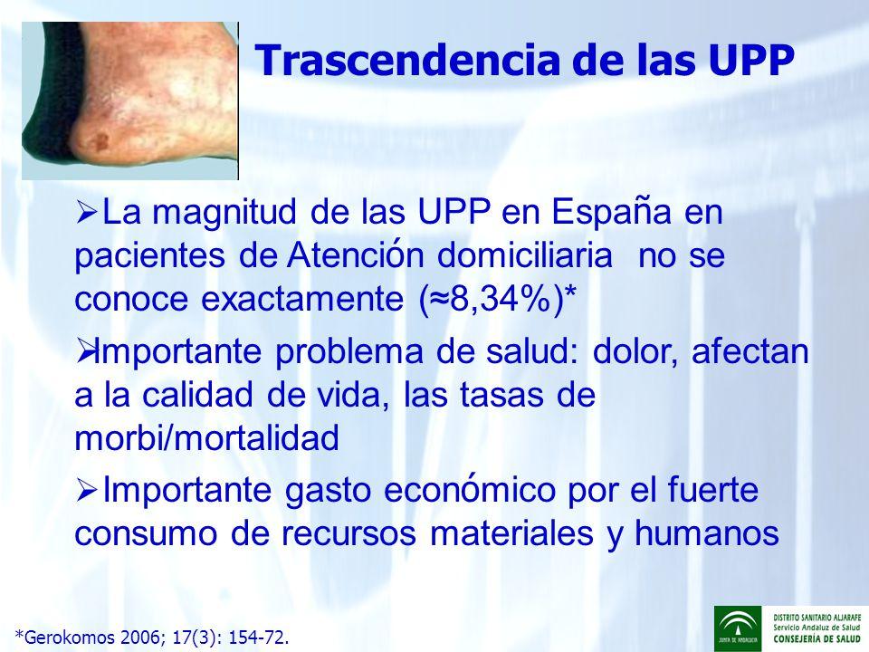 Trascendencia de las UPP