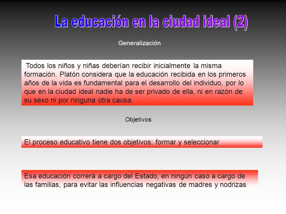 La educación en la ciudad ideal (2)