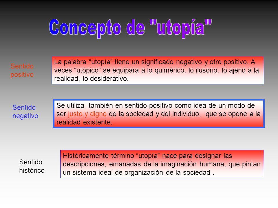 Concepto de utopía