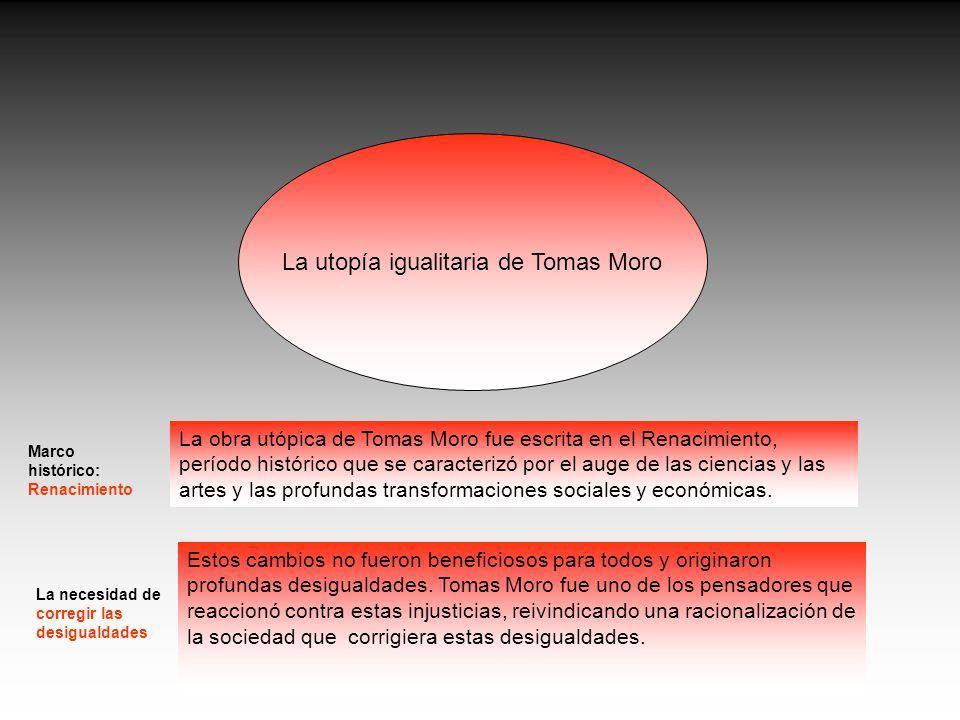 La utopía igualitaria de Tomas Moro