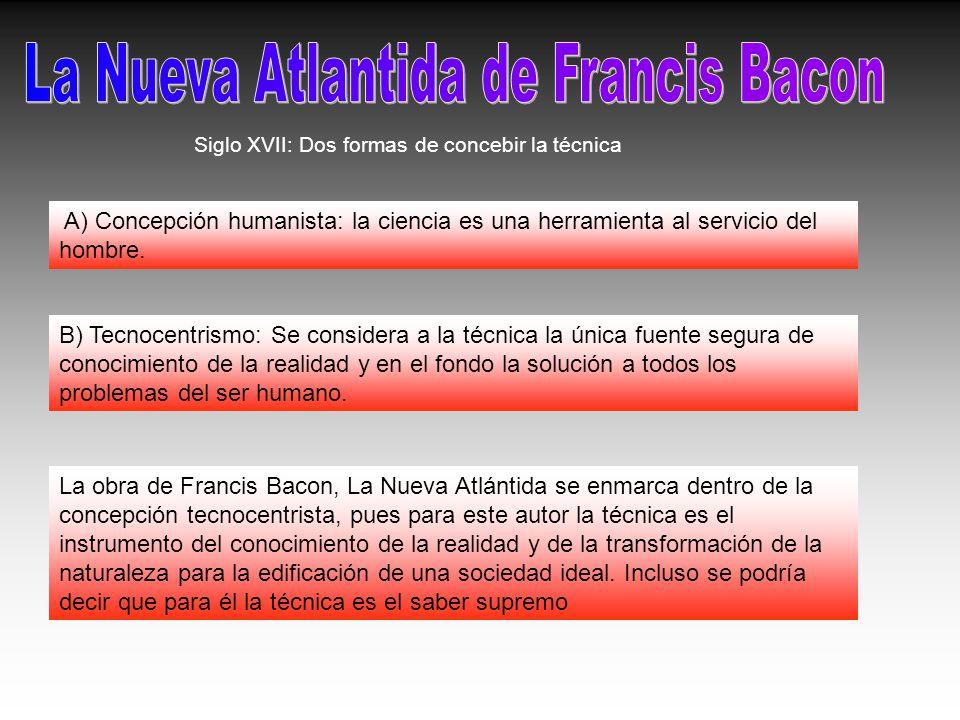 La Nueva Atlantida de Francis Bacon