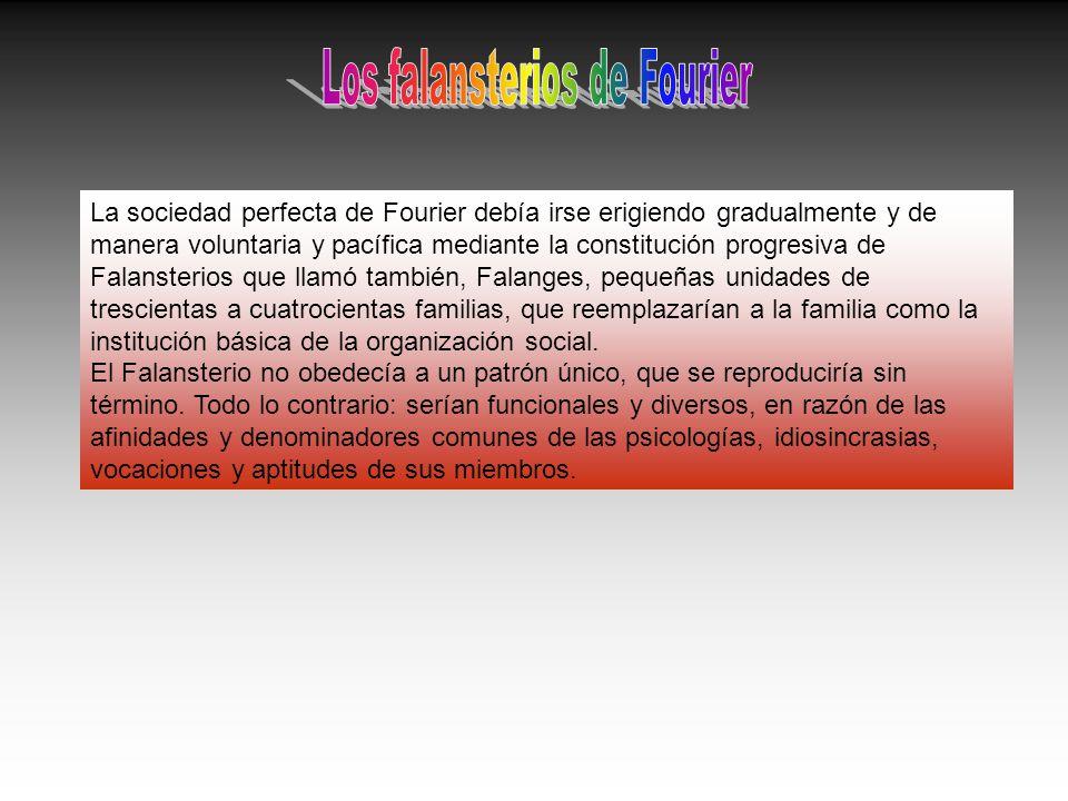 Los falansterios de Fourier