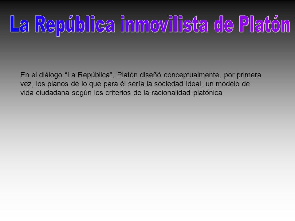 La República inmovilista de Platón