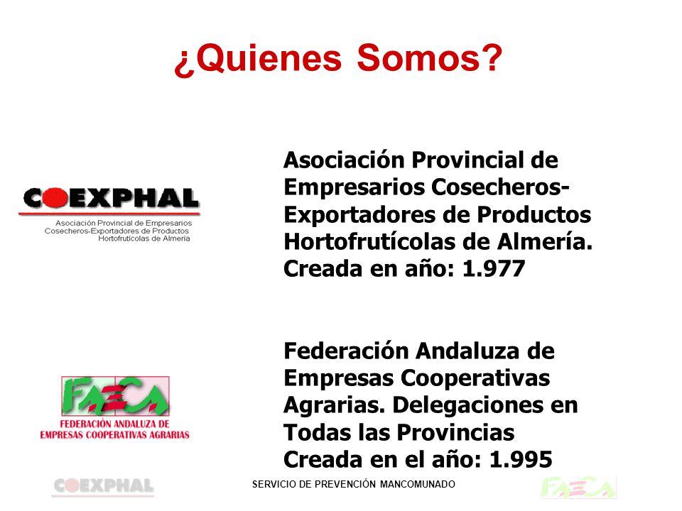 ¿Quienes Somos Asociación Provincial de Empresarios Cosecheros-Exportadores de Productos Hortofrutícolas de Almería.
