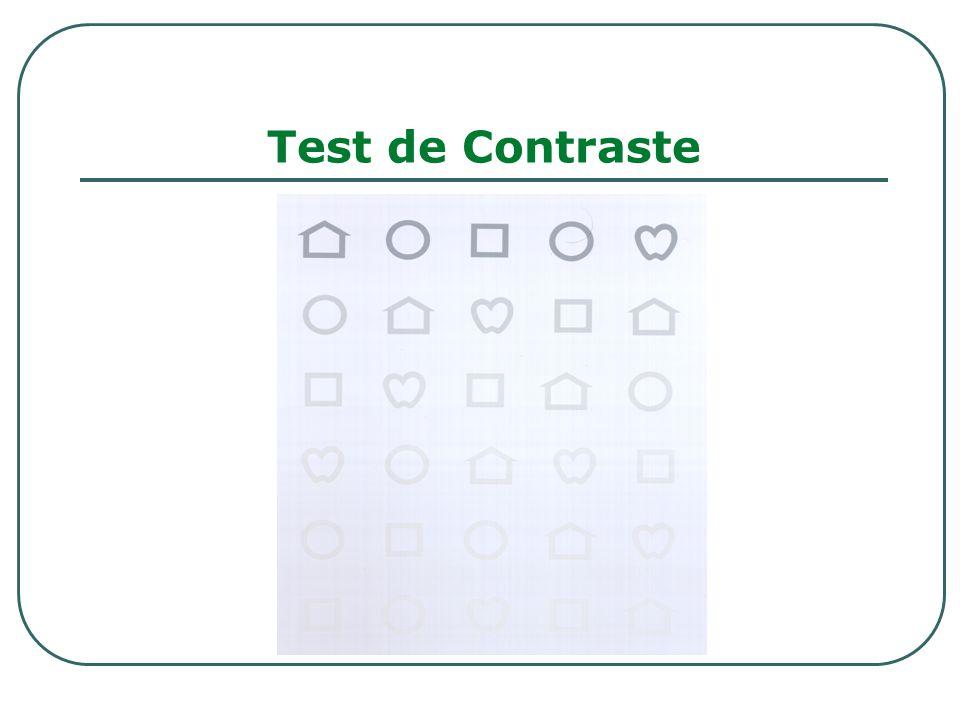 Test de Contraste