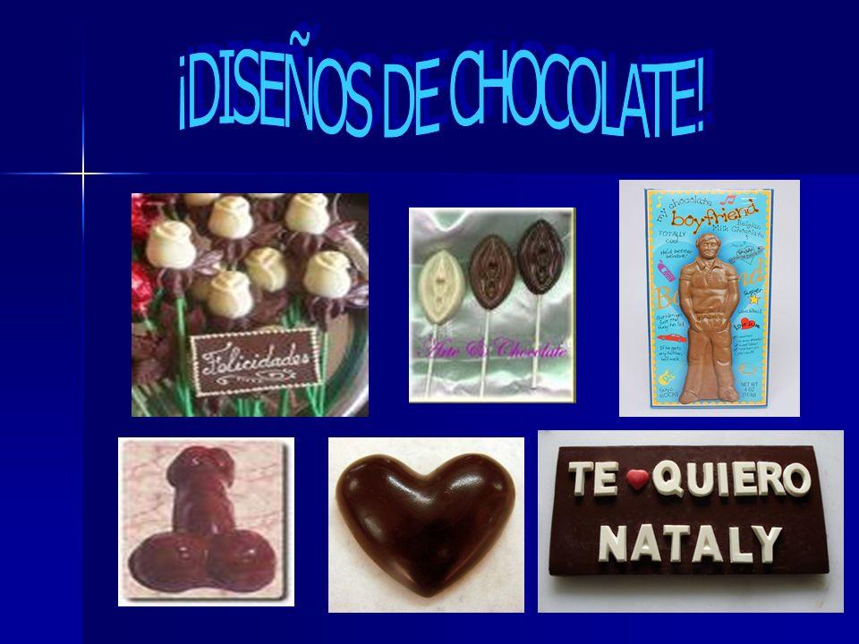 ¡DISEÑOS DE CHOCOLATE!