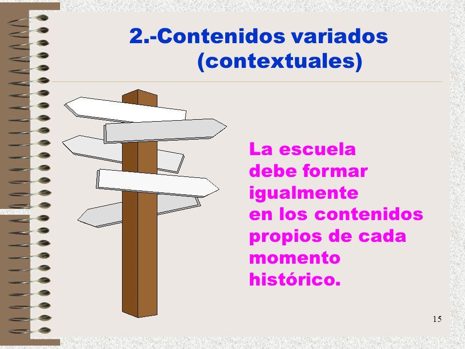2.-Contenidos variados (contextuales)