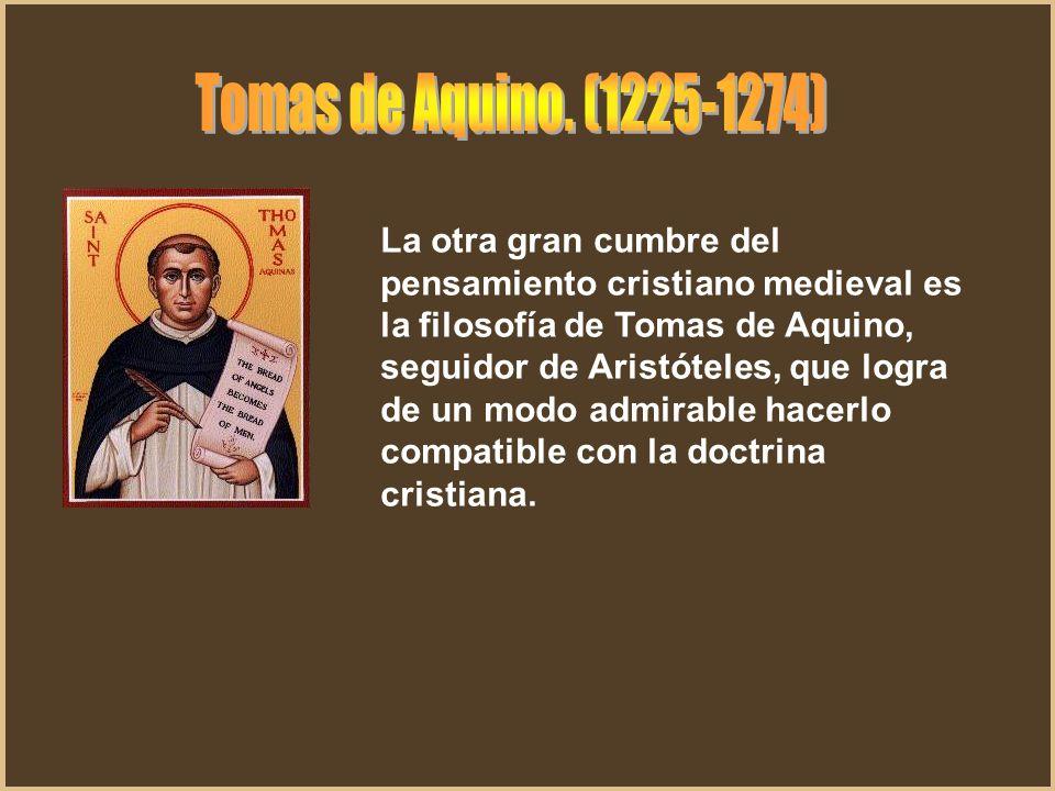 Tomas de Aquino. (1225-1274)