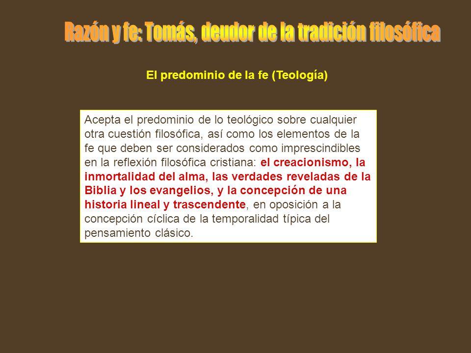 El predominio de la fe (Teología)