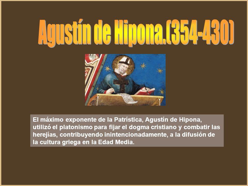 Agustín de Hipona.(354-430)