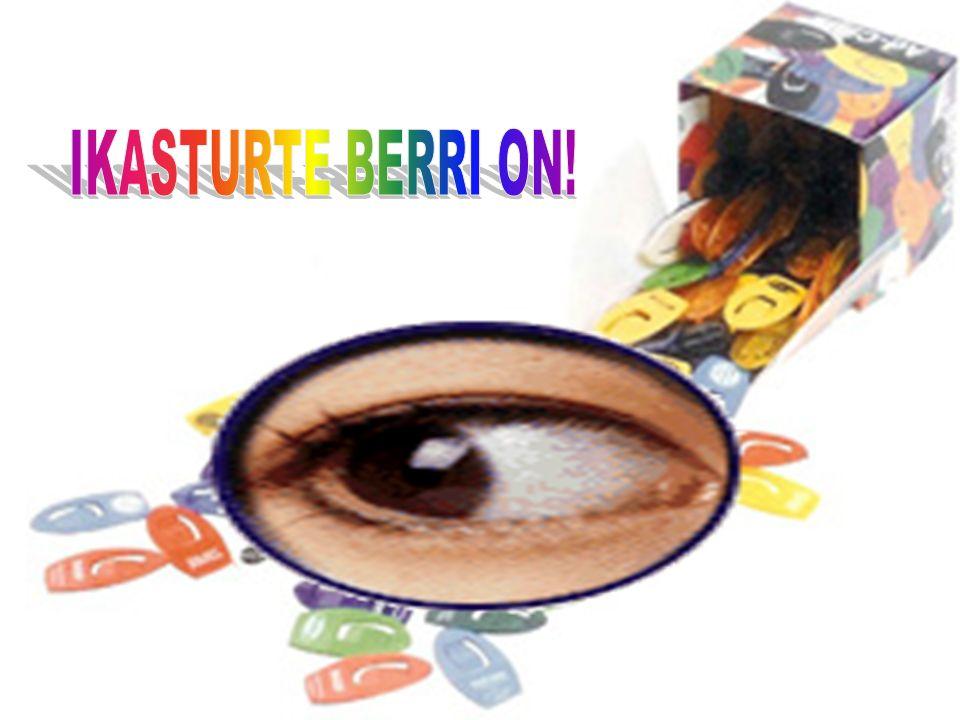 IKASTURTE BERRI ON!