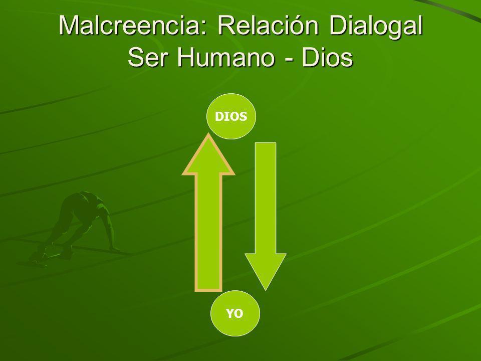 Malcreencia: Relación Dialogal Ser Humano - Dios