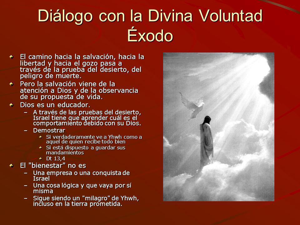 Diálogo con la Divina Voluntad Éxodo