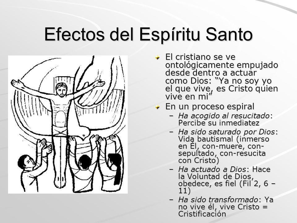 Efectos del Espíritu Santo