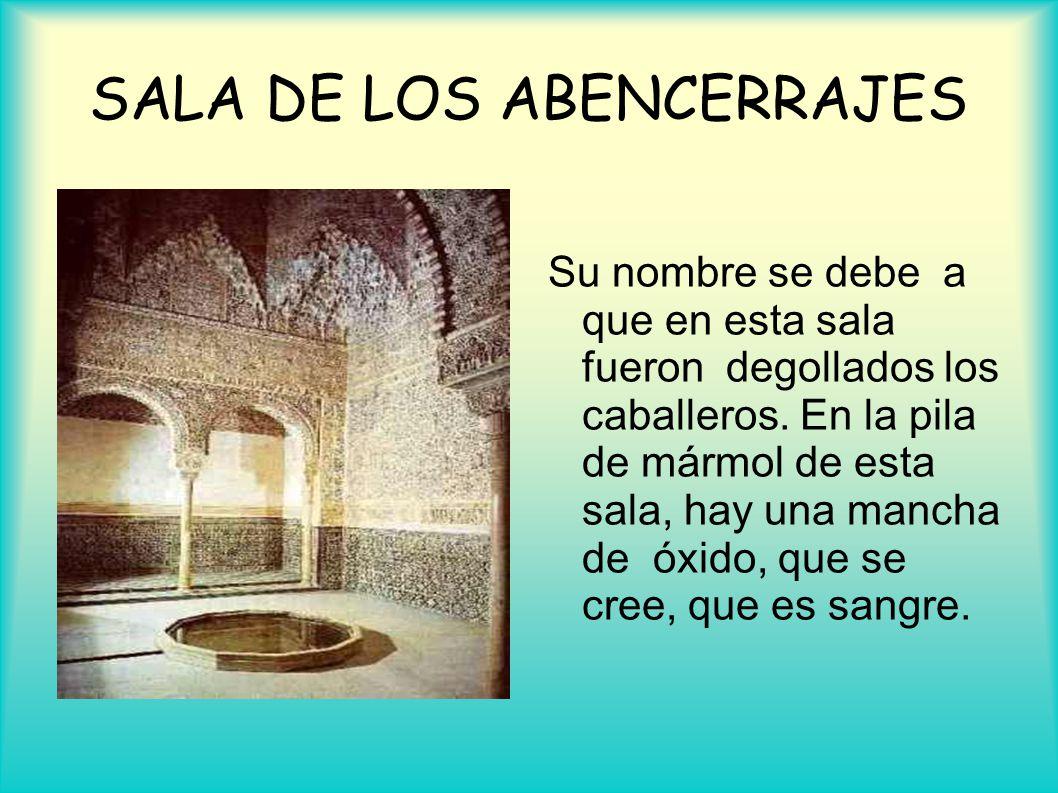 SALA DE LOS ABENCERRAJES
