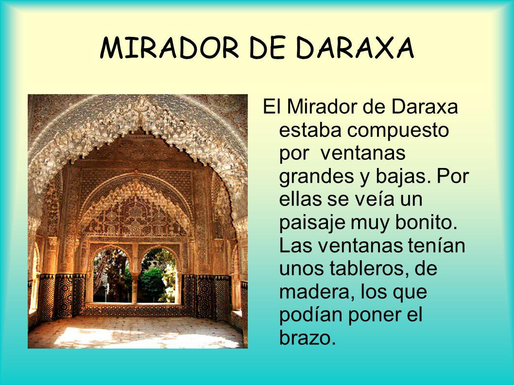 MIRADOR DE DARAXA