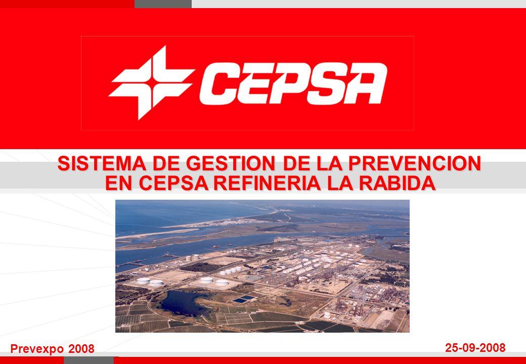 SISTEMA DE GESTION DE LA PREVENCION EN CEPSA REFINERIA LA RABIDA