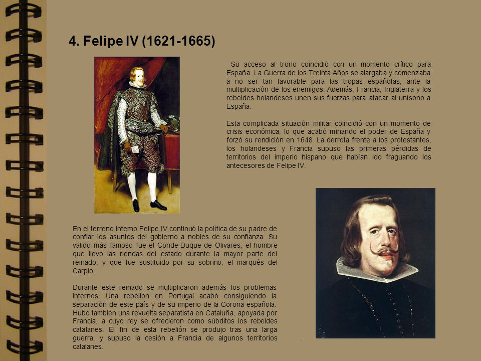 4. Felipe IV (1621-1665)