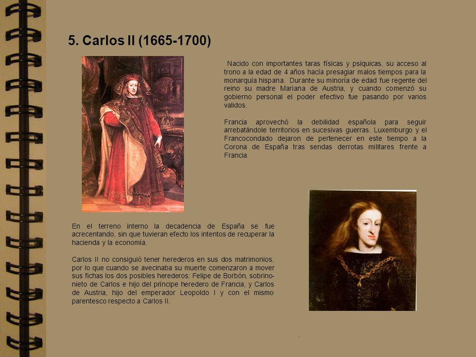 5. Carlos II (1665-1700)