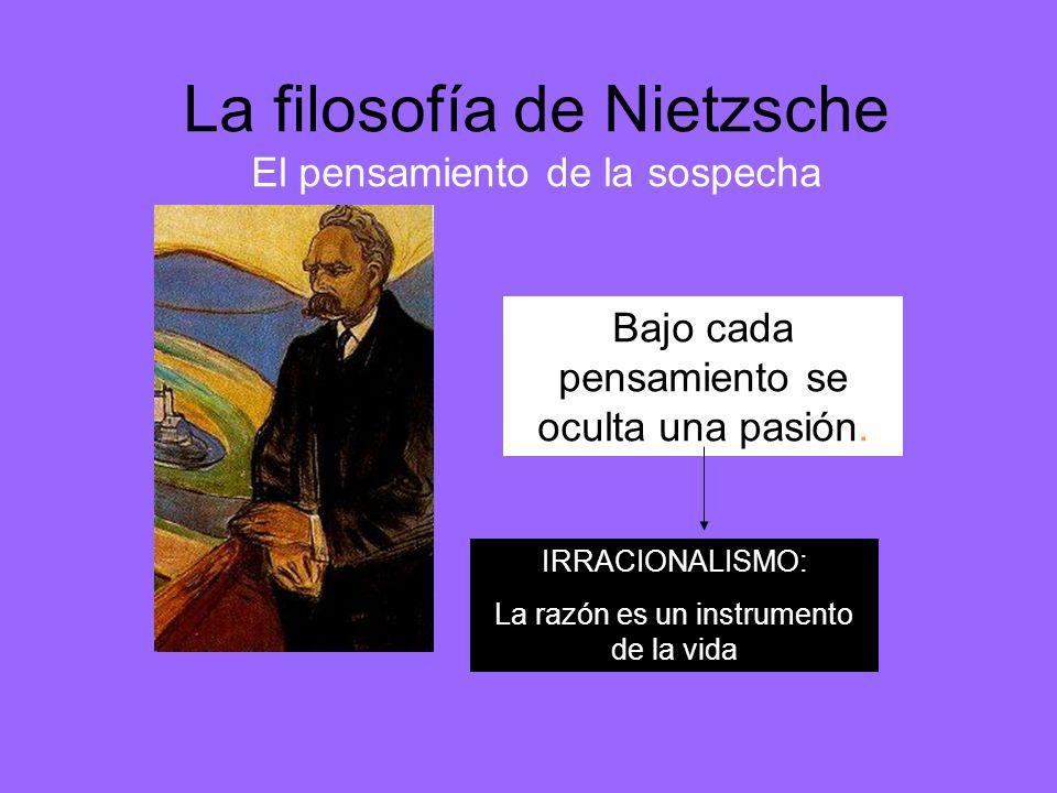 La filosofía de Nietzsche El pensamiento de la sospecha