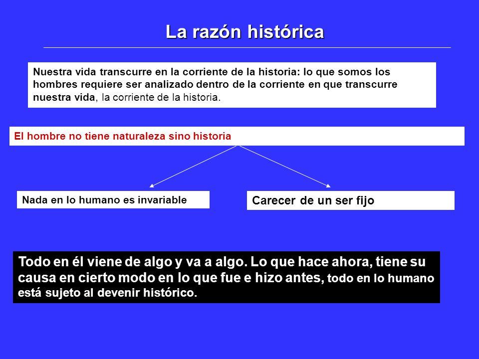 La razón histórica