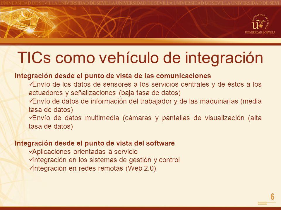 TICs como vehículo de integración