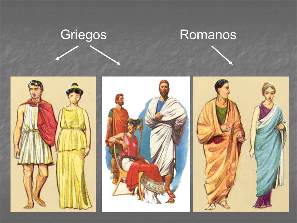 Griegos Romanos
