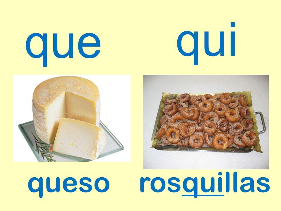 qui que queso rosquillas