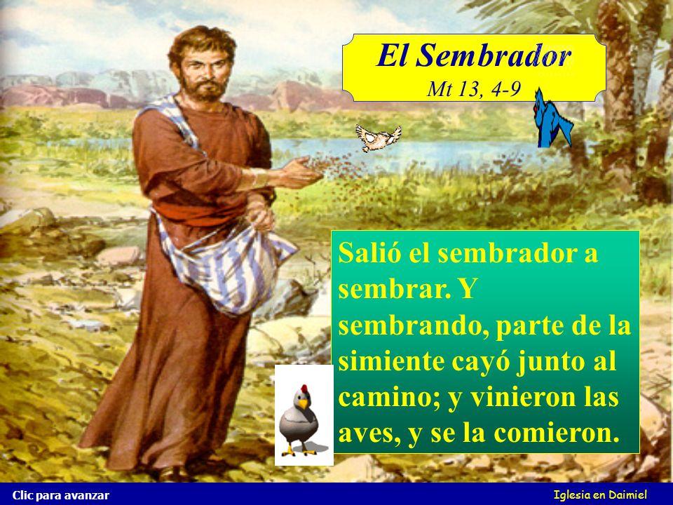 El Sembrador Mt 13, 4-9.