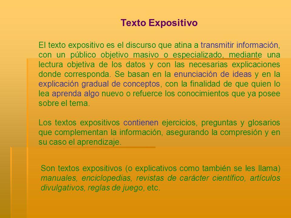 Texto Expositivo