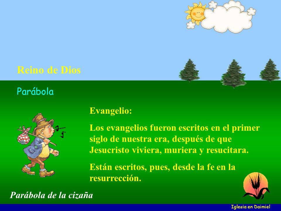 Reino de Dios Parábola Evangelio: