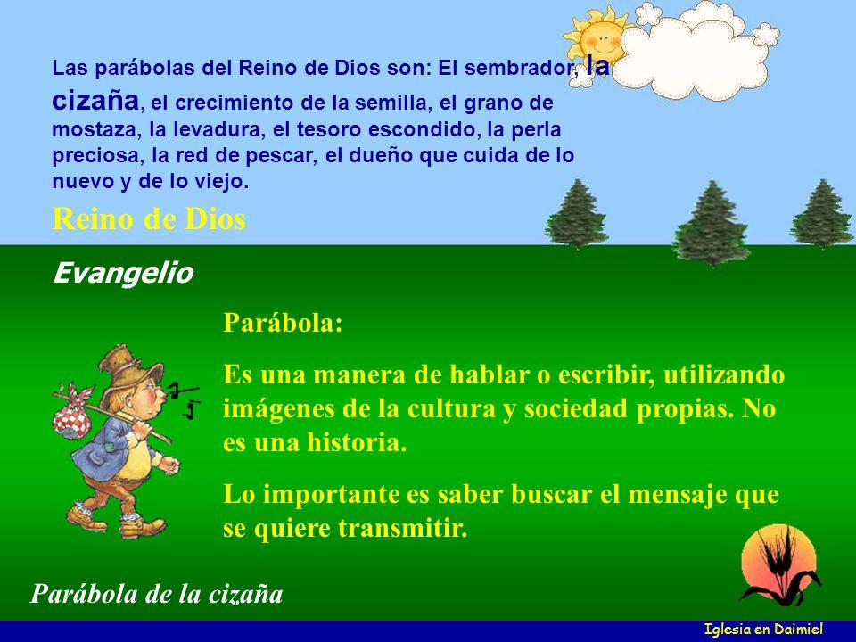 Reino de Dios Evangelio Parábola: