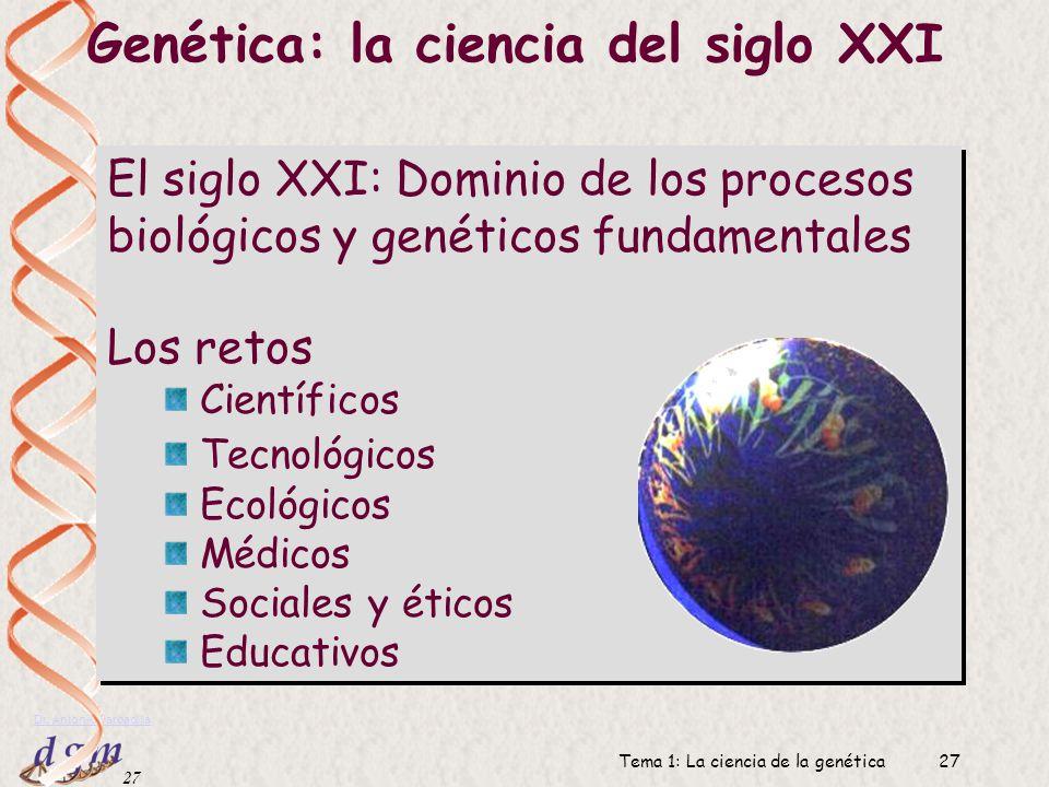 Genética: la ciencia del siglo XXI