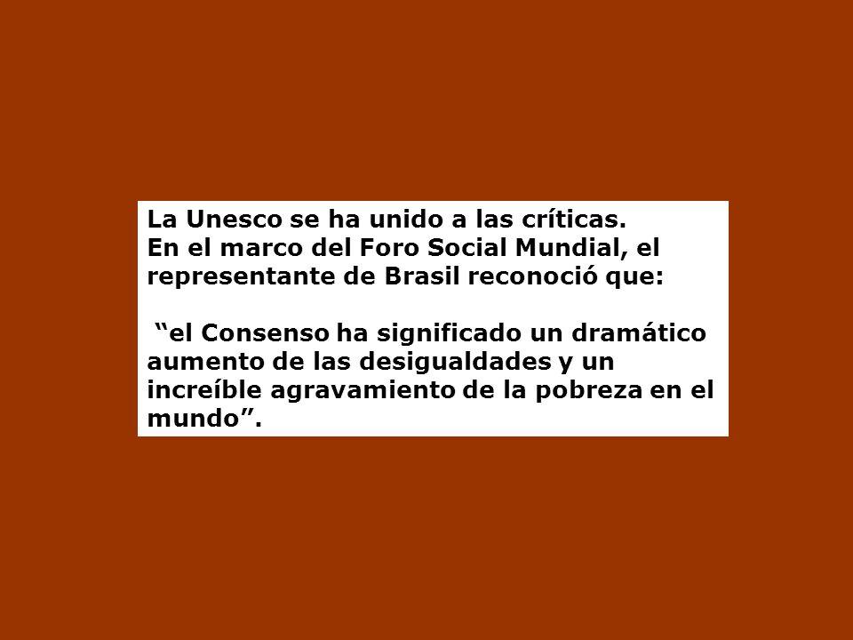 La Unesco se ha unido a las críticas.