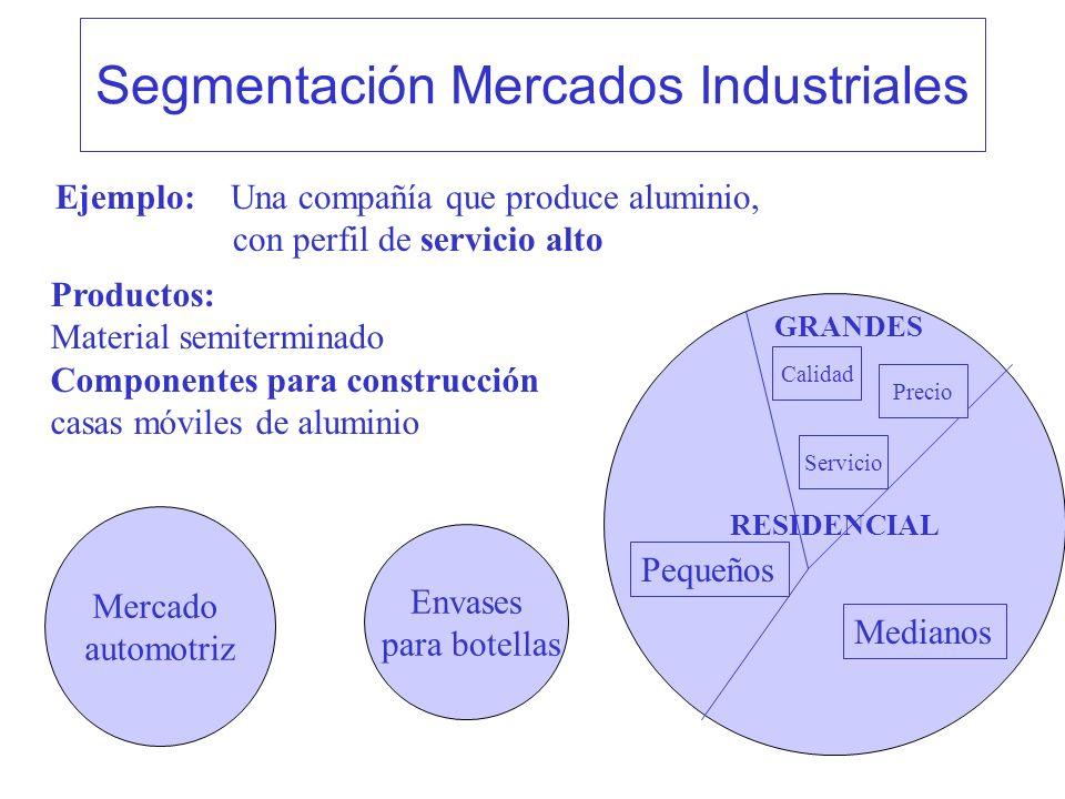 Segmentación Mercados Industriales