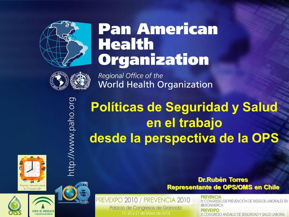 Políticas de Seguridad y Salud en el trabajo