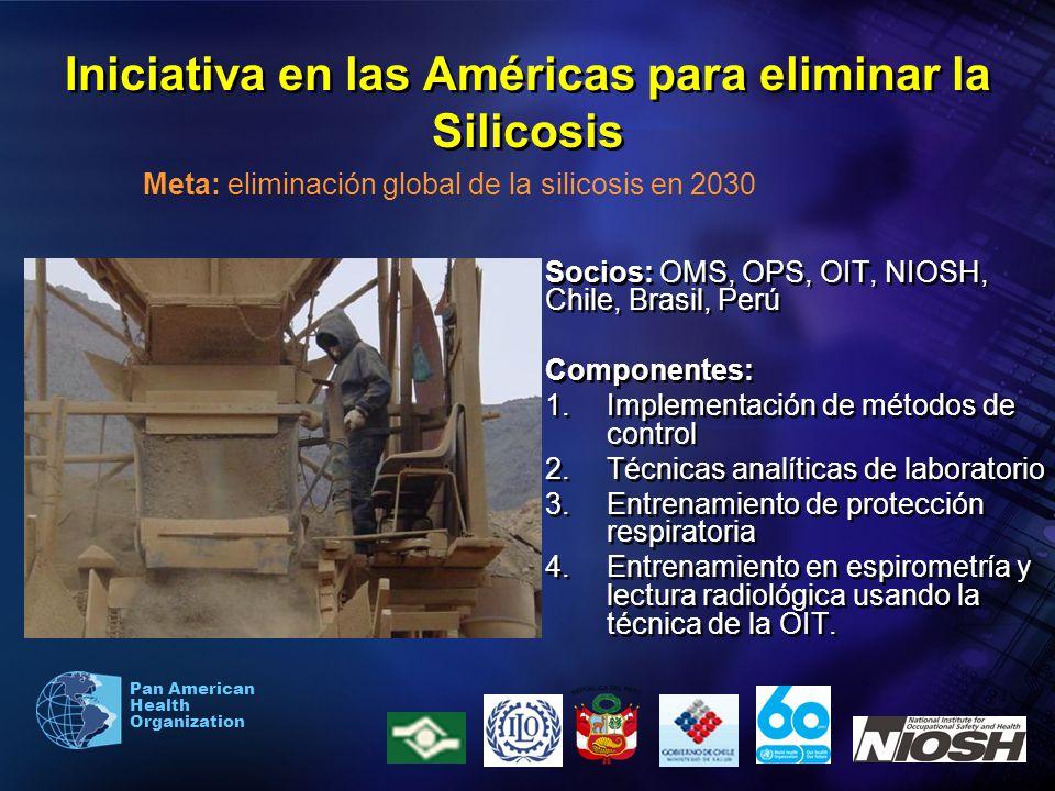 Iniciativa en las Américas para eliminar la Silicosis