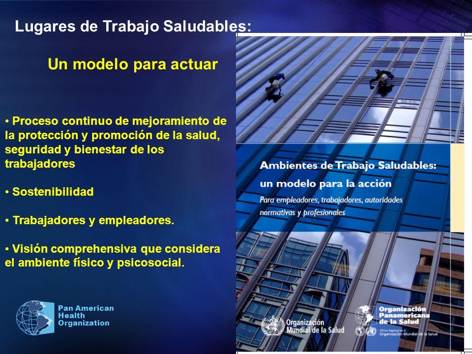 Lugares de Trabajo Saludables: