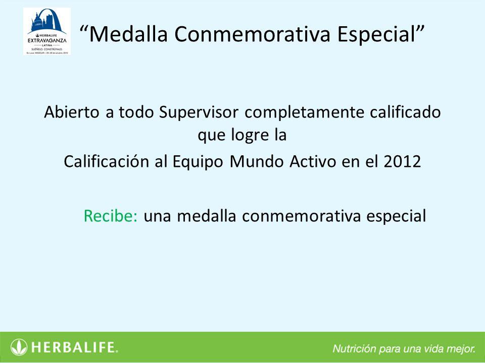 Medalla Conmemorativa Especial